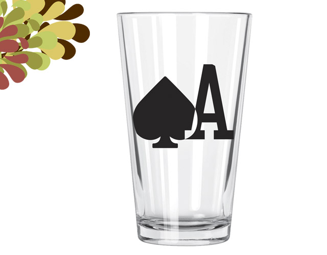 Ace of Spades Pint Glas