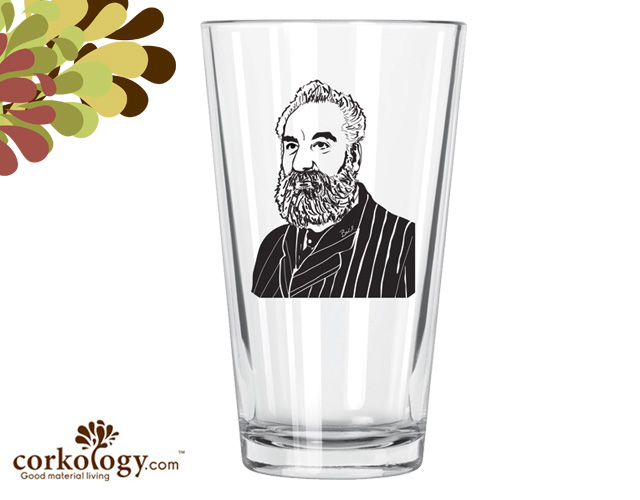 Alexander Bell Pint Glass