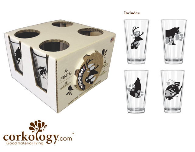 Animal Paw Prints Pint Pack