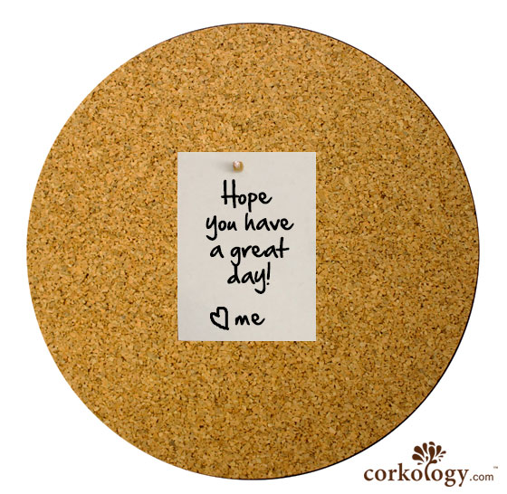 "14"" dia cork bulletin boards"