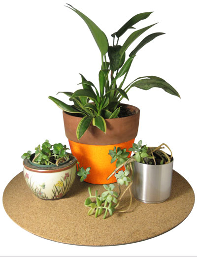 "20"" dia. Cork Plant Mat - 1 in pack - Free shipping"