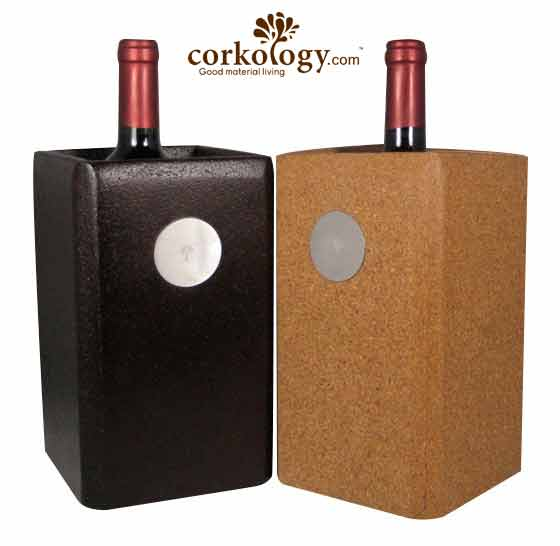 Cork Wine Chiller Bucket
