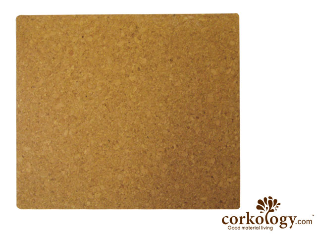 Plain Rectangle Cork Placemat