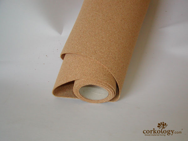 "1/8"" (3mm) x 48"" x 50' Cork Underlayment Rolls - $0.49 SF"