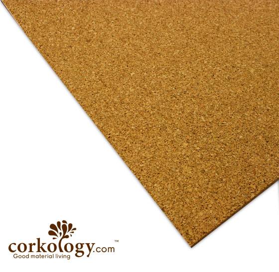 "1/2"" (12 mm) x 2' x 3' Cork Underlayment Sheets - $1.45 SF"