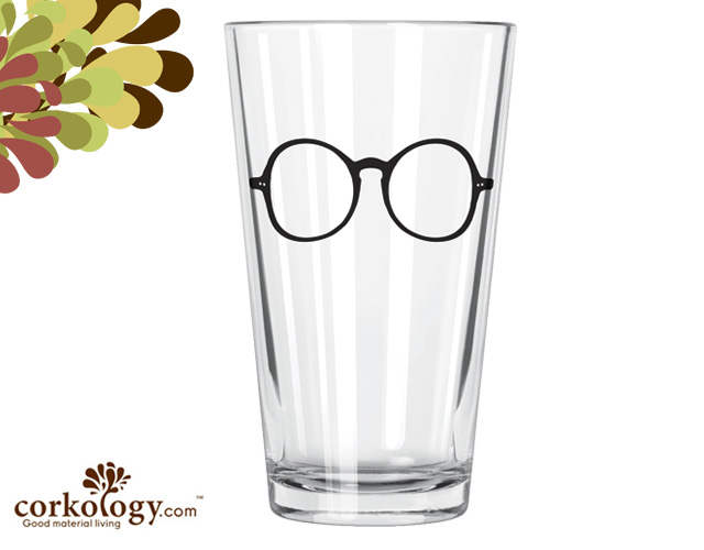 Harry Pint Glass