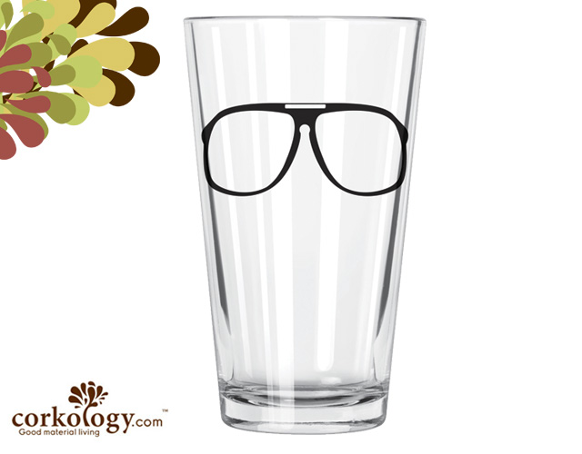 Jim Pint Glass