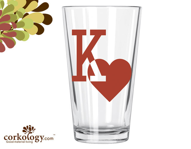 Kings of Hearts Pint Glass