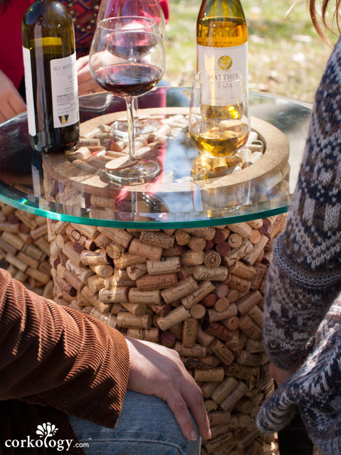 The 3000 Cork Stopper Patio Table�