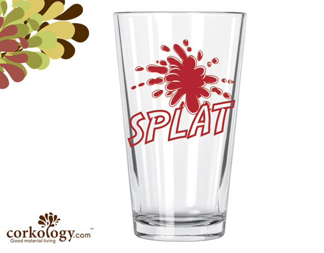 Splat Pint Glass