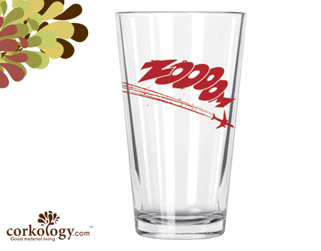 Zoom Pint Glass
